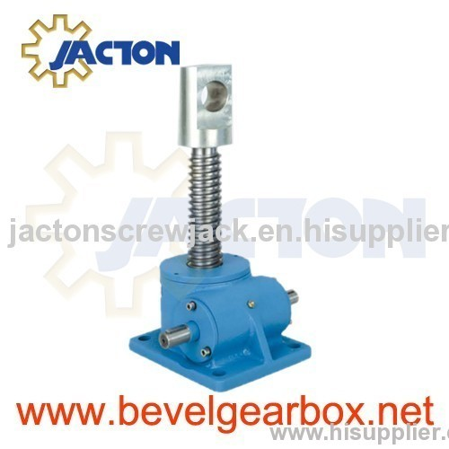 long stroke high tonnage screw jack, heavy duty linear actuator, heavy duty screw jacks