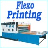 flexo ink printing & slotting machine