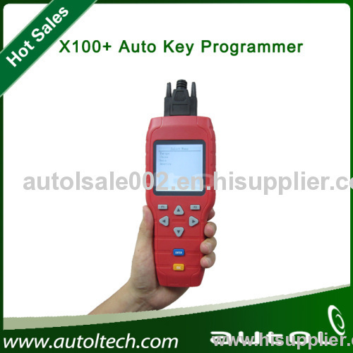 Support Key Programming, Replace ECM/PCM and Odometer,100% Original X-100+ Key Programmer X100 Plus