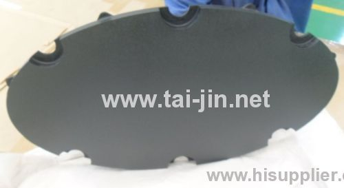 Ru-Ir Coated Titanium Disc Anode