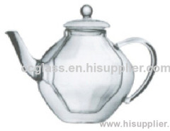 Double Wall Insulated Glass Teapots Coffee Pots