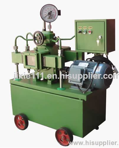 Hydraulic test pump with good ability of stabilizing pressure