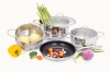 Stainless Steel Cookware Sets 6 PCS SET