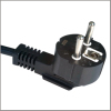 Schuko power cord plug, VDE power cables