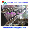 conical twin extruder screw