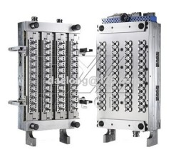 48 cavities preform mould with valve gate