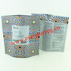 2013Colorful stand up aluminum foil bags for cosmetic