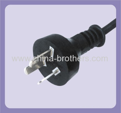 073A Argentina standard 3 pin plug for power cord