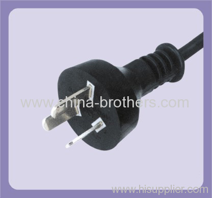Argentina standard 3 pin plug for power cord