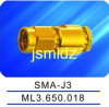 SMA male connector ,connecting high frequency cable,thread coupling,straight,50ohm impedence