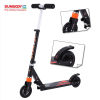 High quality EN14619 aluminum body adult kick foot scooter with two 125mm PU wheels