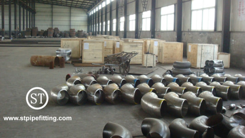 Seamless Butt Welded Pipe Fitting Equal Tee fittings