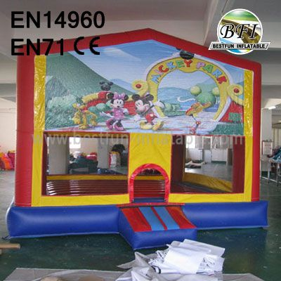 Commerical 13' Inflatable Mickey Bouncer
