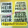 Eggshell Warranty Stickers With Strong Adhesive,Eggshell Stickers in Rolls & Sheets,Ultra Destructible Vinyl Labels