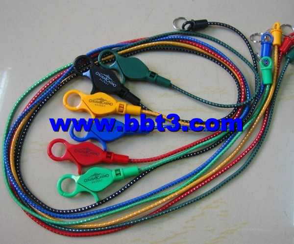 Promotional lobster shape bungee cord for casino