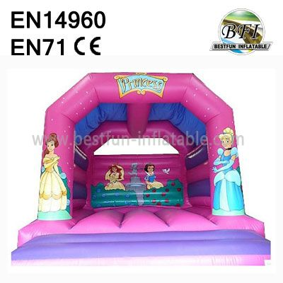 Princess Bounce House With Roof