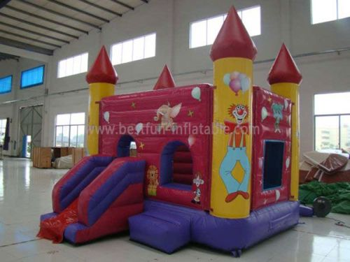 Custom Kids Inflatable Slides And Castles