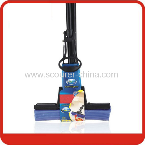 New style extensible PVA Mop with Blue+black