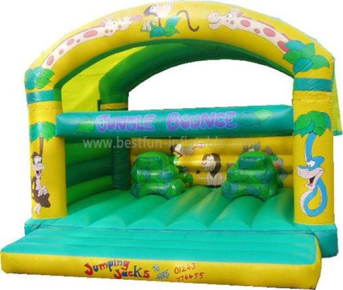 Jungle Roof Bounce Inflatable Jumping Castle For Kid