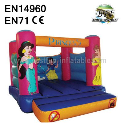 Simple Inflatable Princess Bounce House