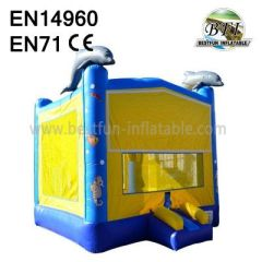 Dolphin Bounce House Inflatable Castle