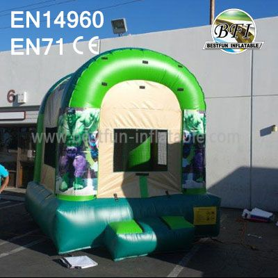 Mini Inflatable Hulk Bouncer With Website