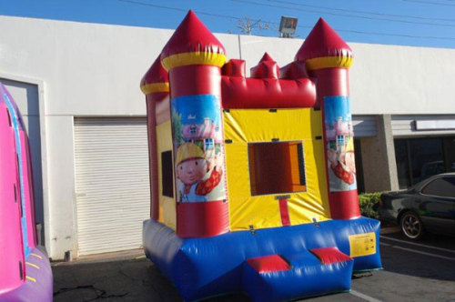 Children Inflatable Little Builder Bounce House