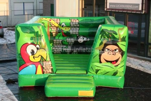 Indoor Jungle Inflatable Bouncer For Toddler