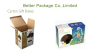 Cardboard corrugated display packaging
