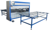 Auto mattress covering machine