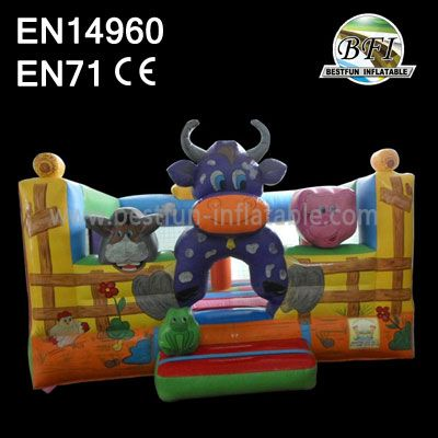 Small Farm Cow Commercial Inflatables