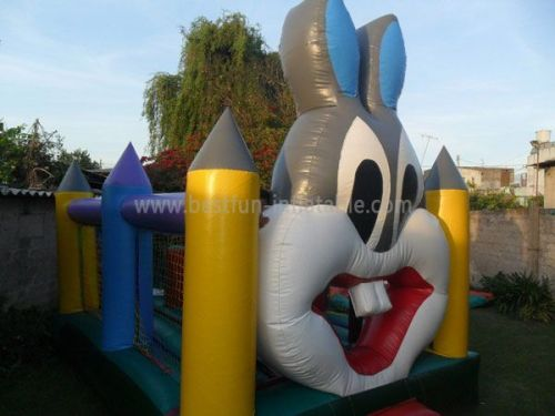 Giant Inflatable Rabbit Bouncy Castles