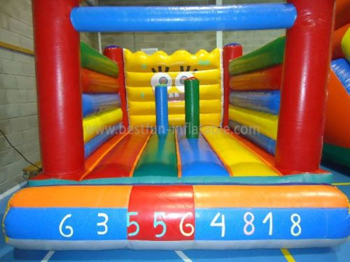 Pvc Water Proof Classic Bounce House