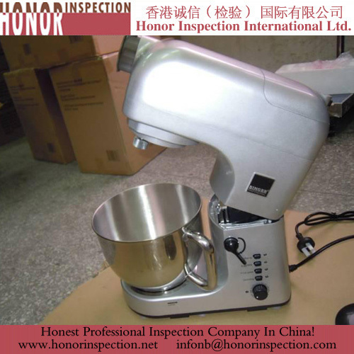 Stand Mixer Inspection in China