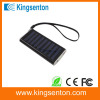 low price mini portable solar power bank charger for samsung ,external battery charger with USB2.0 USB Output,1000 mah