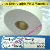 Manufacturer Self Adheive Security Label Papers,Tamper Evident Adhesive Label Papers Permanent Glue,Destructible Vinyl