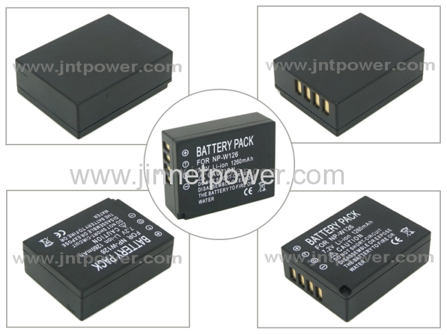 For Fuji NP-W126 battery for digital Fujifilm camera FinePix HS30EXR X-Pro1