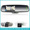 4.3 inch gps navigation rear view car mirror +bluetooth+reverse display+FM