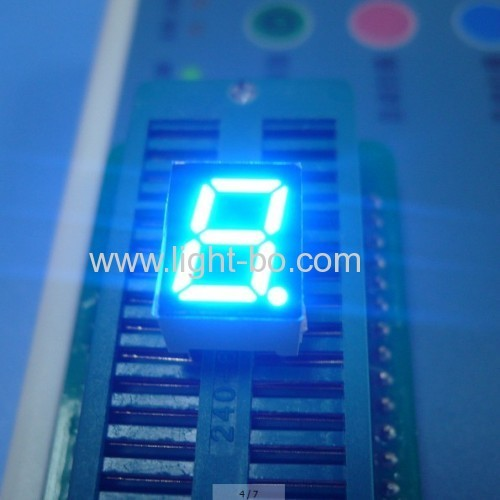 Ultra blue 0.39inch Single Digit 7 Segment LED Display Common cathode for home appliances