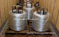 High tensile automatic baling wire for baling machines
