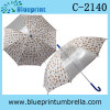 Metal Shaft Auto Open Rain Kid Umbrella with Clear Panel
