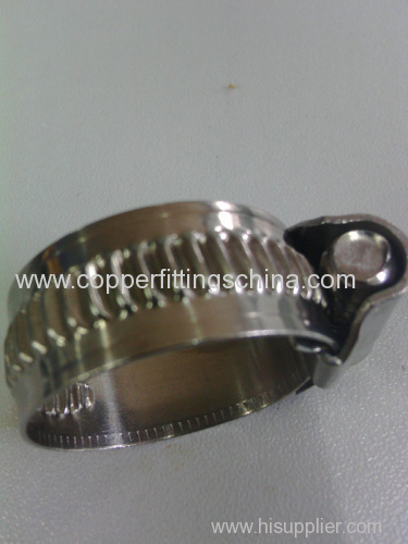 Non Perforated Stainless Steel 304 Germany Type Hose Clamp