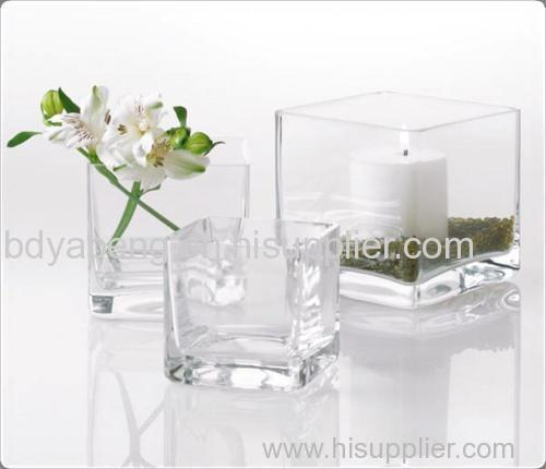 wholesale for glass vase, cube vase, square vase manufacturer and supplier