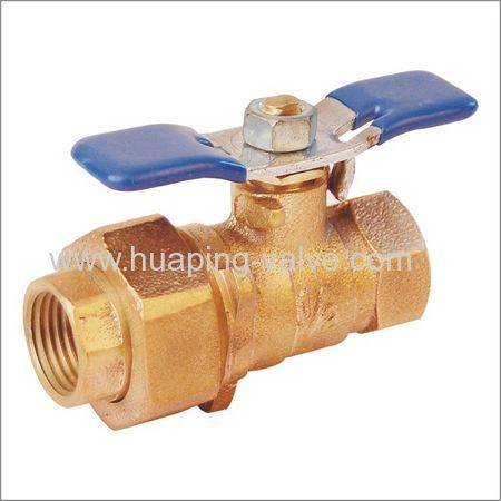 Threaded Single Union End Union Bronze Ball Valve