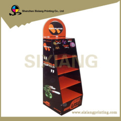 Full Color Printing Cardboard Display Stand