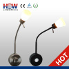 2013 hotest 3W Dimmable Plug-in Flexible LED reading Lamp