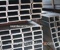 ASTM Q195 Welded Metal Square Pipe / Galvanized Thin Walled Steel Tubing For Structural