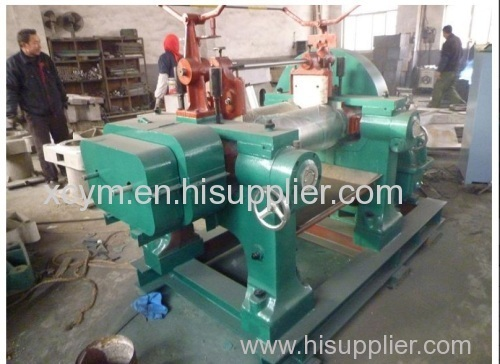 Two roll rubber milxing mill / cooling type open rubber mill