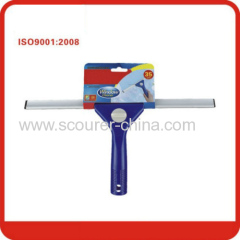 Color paper Window squeegee Wiper cleaner with PP and Aluminum and Rubber