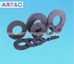 Big Ferrite Ring Magnet For LoudSpeakers with 3 holes D10mm